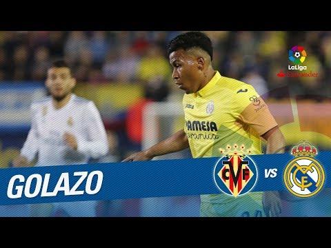 Golazo de Roger Martínez (1-2) Villarreal CF vs Real Madrid