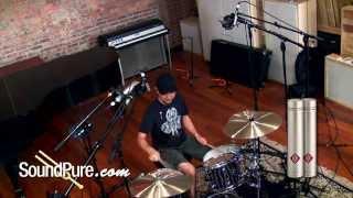 Neumann U87 vs. Coles 4038 vs. Neumann KM184 - Studio Drum Overheads Comparison