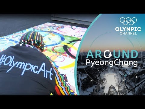 Olympic Art at the Winter Games | Around PyeongChang