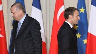 France recalls ambassador from Turkey after 'unacceptable' Erdogan comments