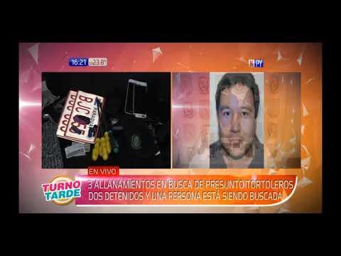 Dos hombres detenidos tras allanamientos