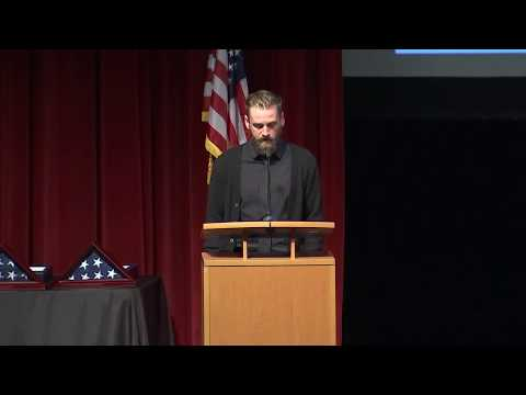 connectYoutube - Veteran speaks at memorial service for women killed at Yountville veterans home