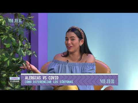 Alergias vs Covid, cómo diferenciar los síntomas   Mujer
