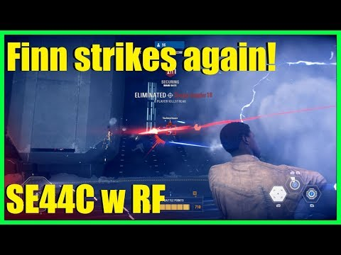 Star Wars Battlefront 2 - The BF2 aimbot hero strikes again! | Trying the Se-44C with Rapid fire!