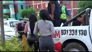 Intervienen a meretrices tras protesta de vecinos en San Juan de Miraflores