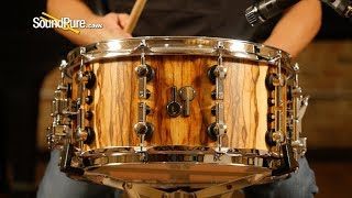 Sonor 7x14 SQ2 Medium Beech Snare Drum African Marble—Quick 'n' Dirty