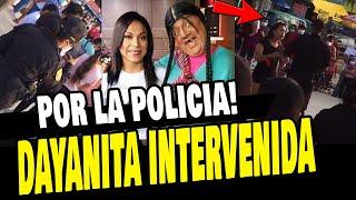 DAYANITA FUE INTERVENIDA POR LA POLICÍA POR AGLOMERAR A DOCENAS DE PERSONAS