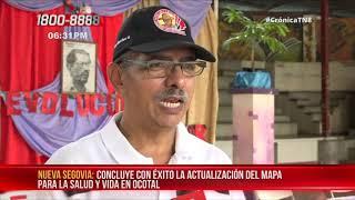Concluye con éxito la actualización del Mapa para la Salud y Vida en Ocotal – Nicaragua