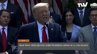 Trump lanza iniciativa para los latinos con la vista puesta en elecciones