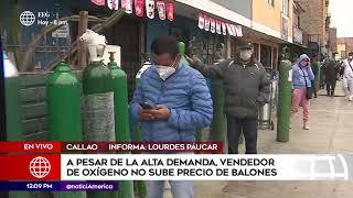 Edición Mediodía: A pesar de la alta demanda de oxígeno vendedor no sube precio