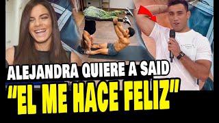 ALEJANDRA BAIGORRIA CONFIESA QUE SAID PALAO LA HACE FELIZ TODOS LOS DÍAS