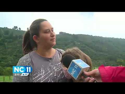 20 familias incomunicadas por derrumbe en Lourdes de Naranjo