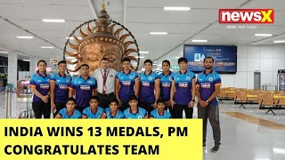 India Wins 13 Medals | PM Modi Congratulates Team | NewsX - NEWSXLIVE