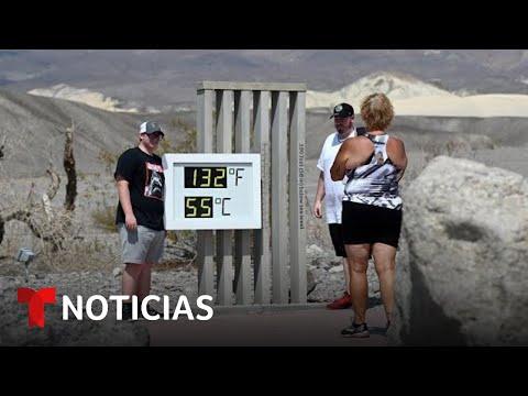Bajo alerta de calor 36 millones de personas en EE.UU. | Noticias Telemundo
