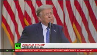 Trump moviliza a