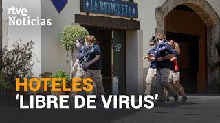 Menos CLIENTES y muchas MEDIDAS DE SEGURIDAD | RTVE Noticias