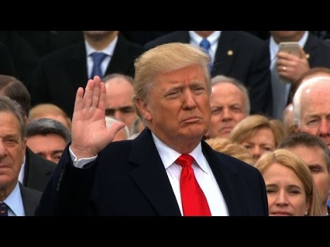 Donald Trump Sworn In As 45th US President (Video)