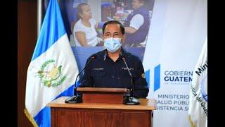Ministro de Salud señala que éste día se registraron 348 nuevos casos positivos de COVID19