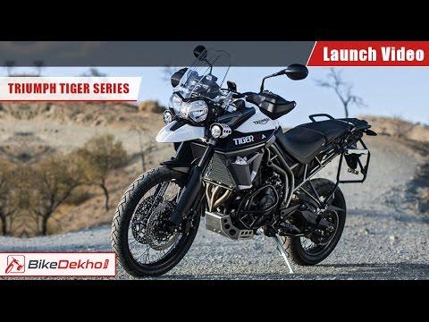 2015 Triumph Tiger Series Launch Video