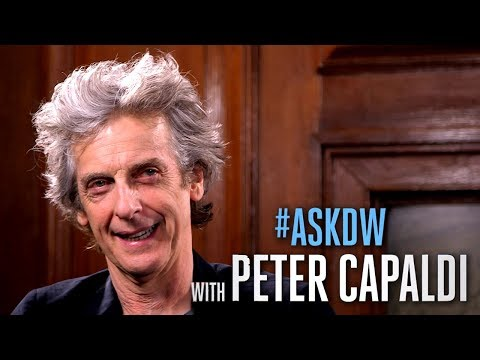 #AskDW with Peter Capaldi - Playing the Doctor | Doctor Who Season 10