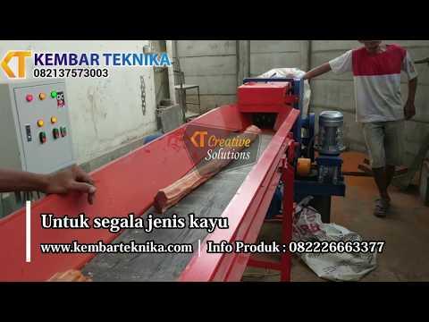 Mesin Wood Crusher | Penghancur Kayu Menjadi Serbuk