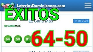 BINGOOO...!! # 64-50 # PALÉ GANA MÁS DE LA TARDE/ RESULTADOS DE LOS SORTEOS de HOY/GANAR LAS LOTERÍA
