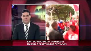Empiezan a llegar dirigente políticos para asistir a marcha de oposición