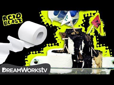 Will ACID Wipe Out Toilet Paper?!? | ACID BLAST