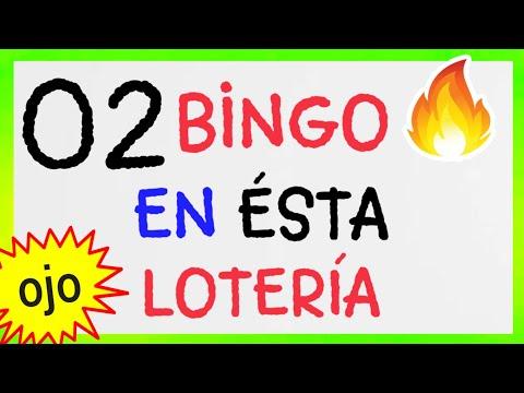 Loteria LA PRIMERA...!! (( 02 )) BINGO HOY..! SORTEOS de las LOTERÍAS/ NÚMEROS GANADORES de HOY...!