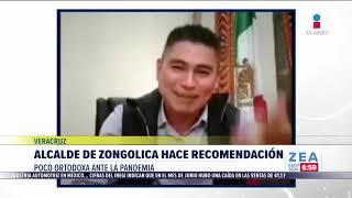 Alcalde de Zongolica recomienda