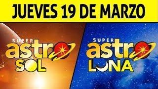Resultado de ASTRO SOL y ASTRO LUNA del Jueves 19 de Marzo de 2020 | SUPER ASTRO ????????????