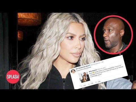 connectYoutube - Kim Kardashian Absolutely Roasts Lamar Odom on Twitter | Daily Celebrity News | Splash TV