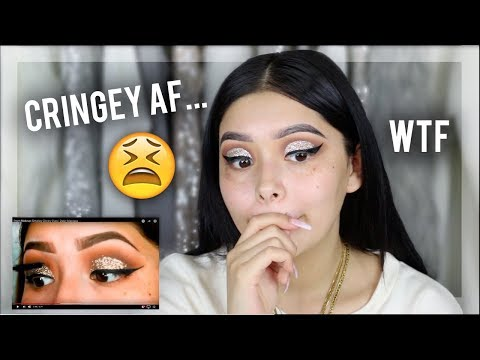 I Tried Following My First Makeup Tutorial | Daisy Marquez