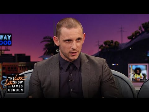 Jamie Bell Crossed the Street to Get Married