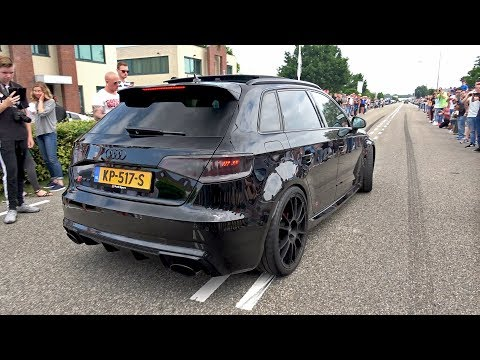 Audi RS3 Sportback 8V w/ Decatted Armytrix Exhaust System!