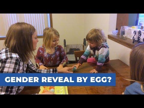 Gender Reveal by Egg?