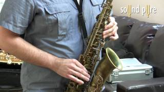 CharterOak E700 Microphone - Saxophone Demo Video