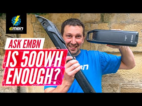 Is 500 Watt Hours Enough? | Ask EMBN Anything About E-MTB