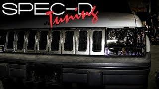 Specdtuning Installation Video 1993 1998 Jeep Grand Cherokee Headlights You