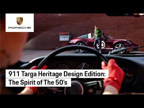 Making Of: Porsche 911 Targa 4S Heritage Design Edition Shooting