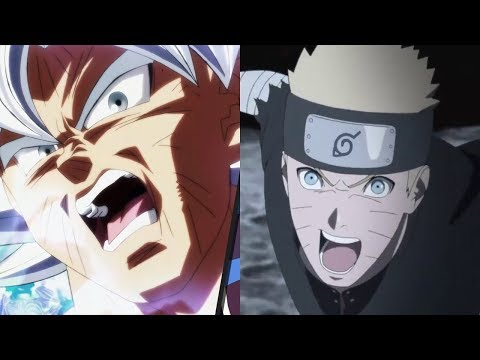 Goku vs Naruto Power Levels (Dragon Ball Super vs Boruto)