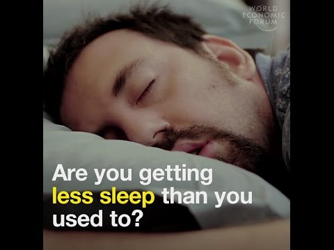 Are we sleeping less than we used to?