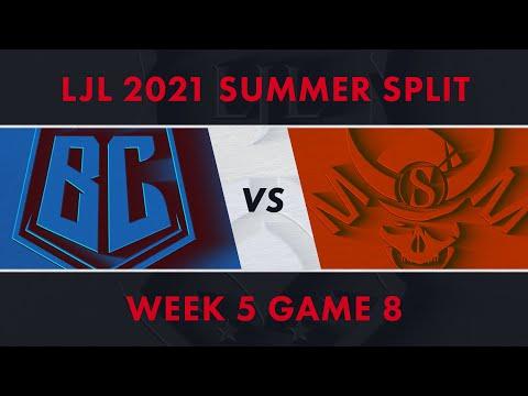 BC vs SG|LJL 2021 Summer Split Week 5 Game 8