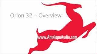 Orion 32 Multi-Channel AD/DA Converter - Overview