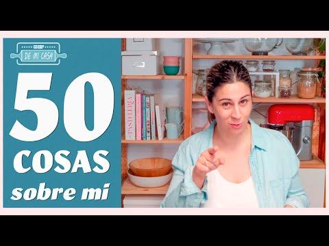 50 COSAS SOBRE MI ?por María chefdemicasa ????