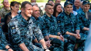 Пресс-конференция украинских моряков