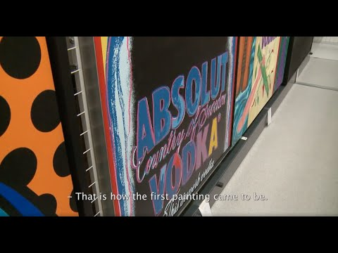 The Absolut Art Collection with curator Mia Sundberg