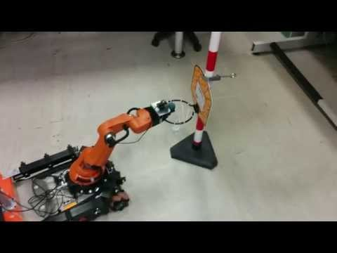 KUKA youBot advanced obstacle avoidance