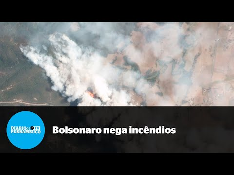 Bolsonaro: incêndios na Amazônia são mentira