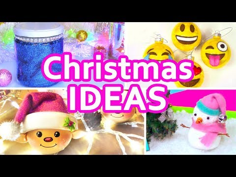 DIY CHRISTMAS IDEAS YOU HAVE TO DO!